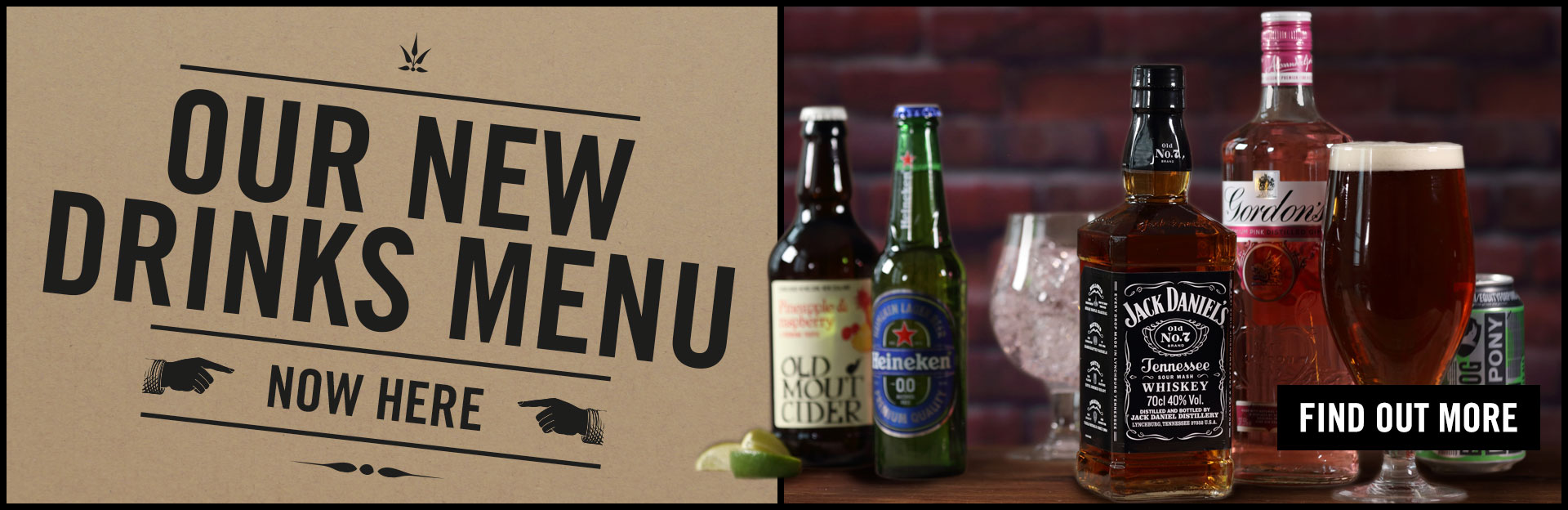 New Drinks Menu Coming Soon at The George Inn
