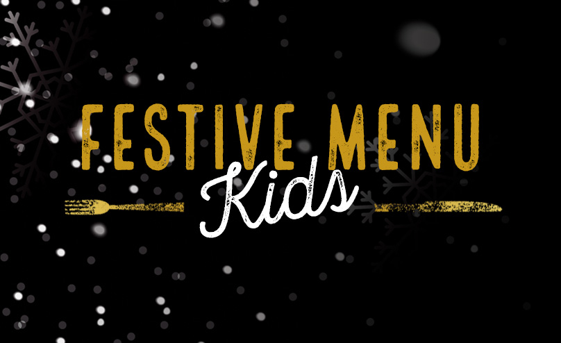 Festive Kids Menu at The George Inn