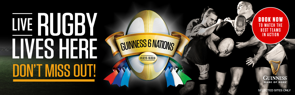 Live Rugby at The George Inn