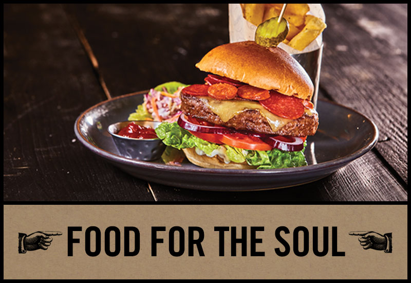Food for the soul at The George Inn