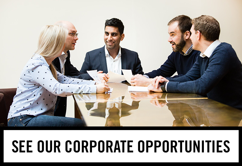 Corporate opportunities at The George Inn