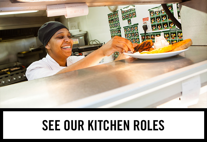 Kitchen roles at The George Inn